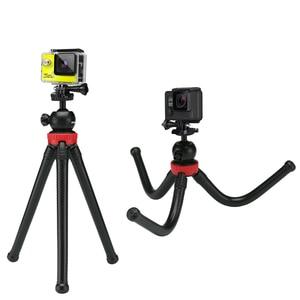 Image 3 - GAQOU Mini Tripod Flexible Octopus Mobile Phone Tripod Bracket with Remote Control Monopod Selfie Stick For iPhone Gopro Camera