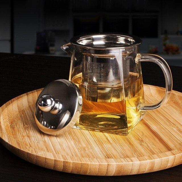 High Temperature Glass Teapot Infuser Filter