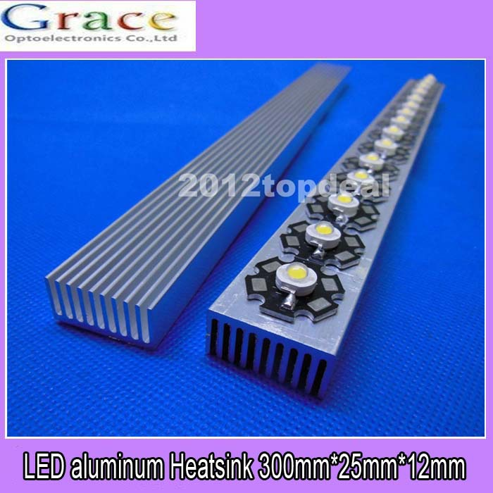 New Long Heatsink Aluminum Heat Sink for LED Power Emitter Diodes 150*20*6mm A