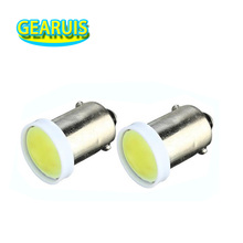 100pcs BA9S COB 1 Led 6chips about 1.5W T4W 6 chips Car LED Lights 1 smd DC 12V Interior light Auto Lamp white blue