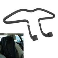 EDFY Araba Oto Koltuk Siyah Kauçuk Kaplı Giysi Ceket Askı
