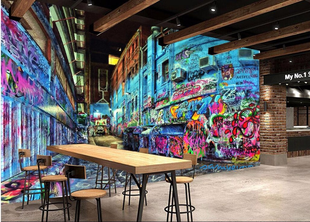 Custom mural 3d wallpaper picture Graffiti animal trend photo wall paper decor painting 3d wall murals wallpaper for walls 3 d custom 3d photo wallpaper for walls 3 d wall murals wallpaper 3d european style white building palace living room tv wall paper