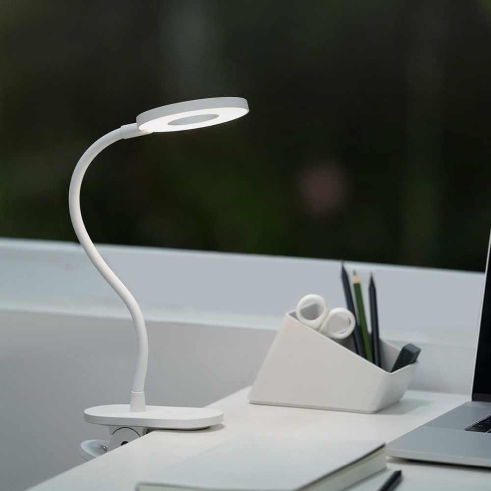 Asli Xiaomi Yeelight LED Lampu Meja untuk Kamar Tidur Ruang Tamu Lampu Dimmer Isi Ulang Klip Tempat Tidur Membaca Buku Malam Lampu