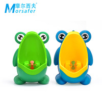 Plastic Cartoon Frog Urinal For Boys Baby Potties Children Kid Protable Training Toilet Seat Wall Hung