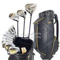 New Men Golf clubs GIII Compelete set of clubs Golf Driver wood irons Putter Graphite or Steel Golf shaft and bag Free shipping