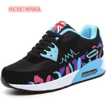 Кроссовки для женская обувь женщин спортивные туфли Air амортизацию прогулочная женские спортивные кроссовки для пробежки
