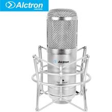 Alctron GT-2B Профессиональные Большой Диафрагмой Трубки Студийный Конденсаторный Микрофон, Pro трубки записи конденсаторный микрофон.