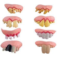 10 PCs Human Horror Latex Teeth Halloween Decoration
