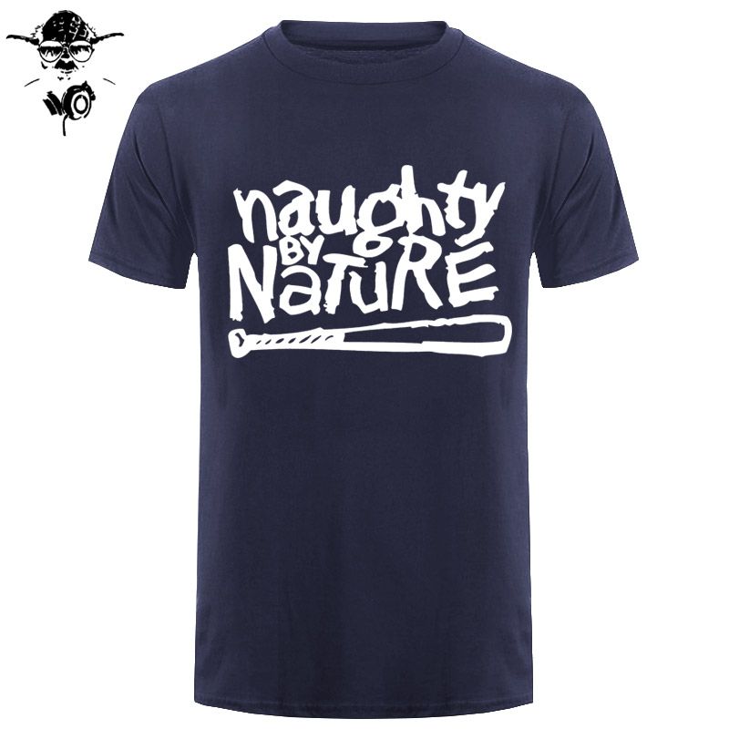 Naughty By Nature Old School Hip Hop Rap Skateboardinger Music Band 90s Bboy Bgirl T-shirt Black Cotton T Shirt Top Tees image