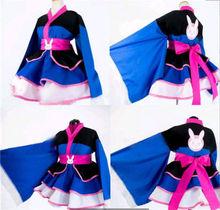 Anime cosplay hot Game OW D.VA dva dress dva kimono Winter Cosplay Costume Lolita Skirt Women Cosplay dress A цена