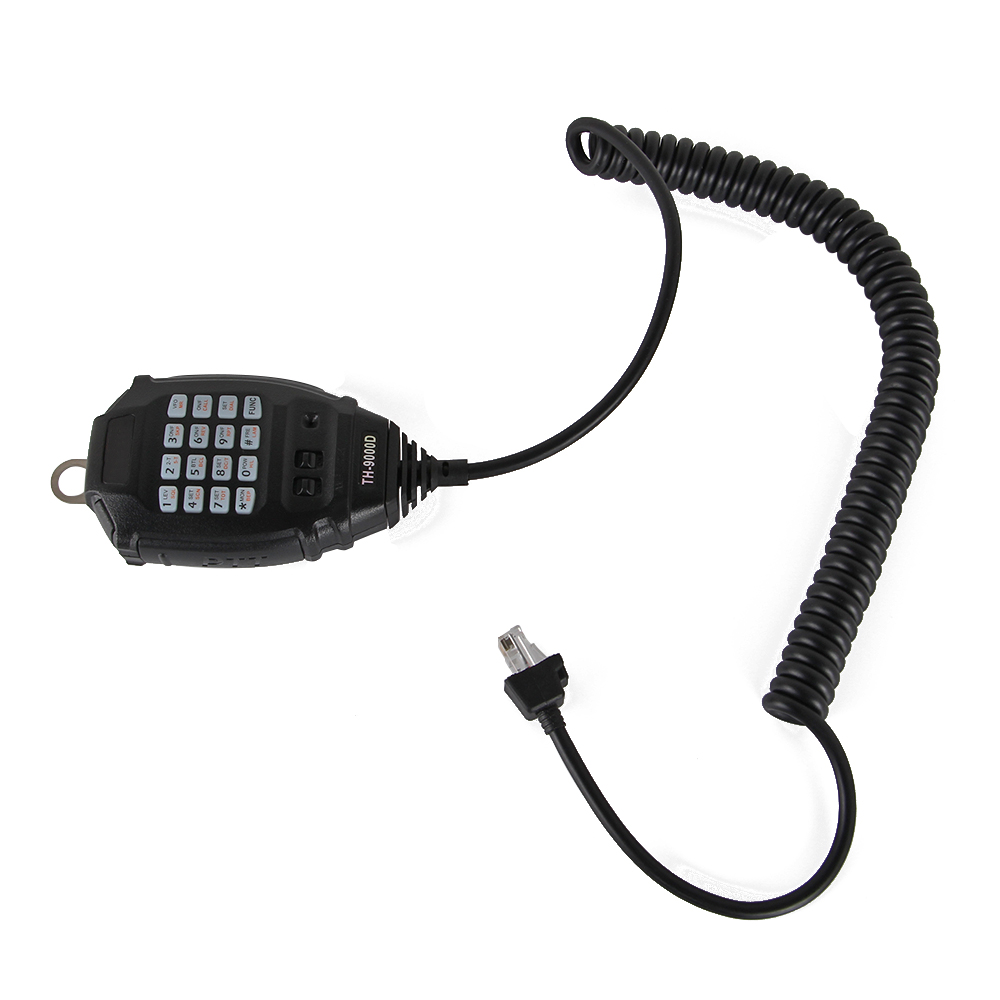New Original <font><b>TYT</b></font> 6 Pin DTMF Handheld Speaker Microphone for <font><b>TYT</b></font> <font><b>TH</b></font>-<font><b>9800</b></font> <font><b>TH</b></font>-7800 TH9800 TH7800 Walkie Talkie Microphone Mic image