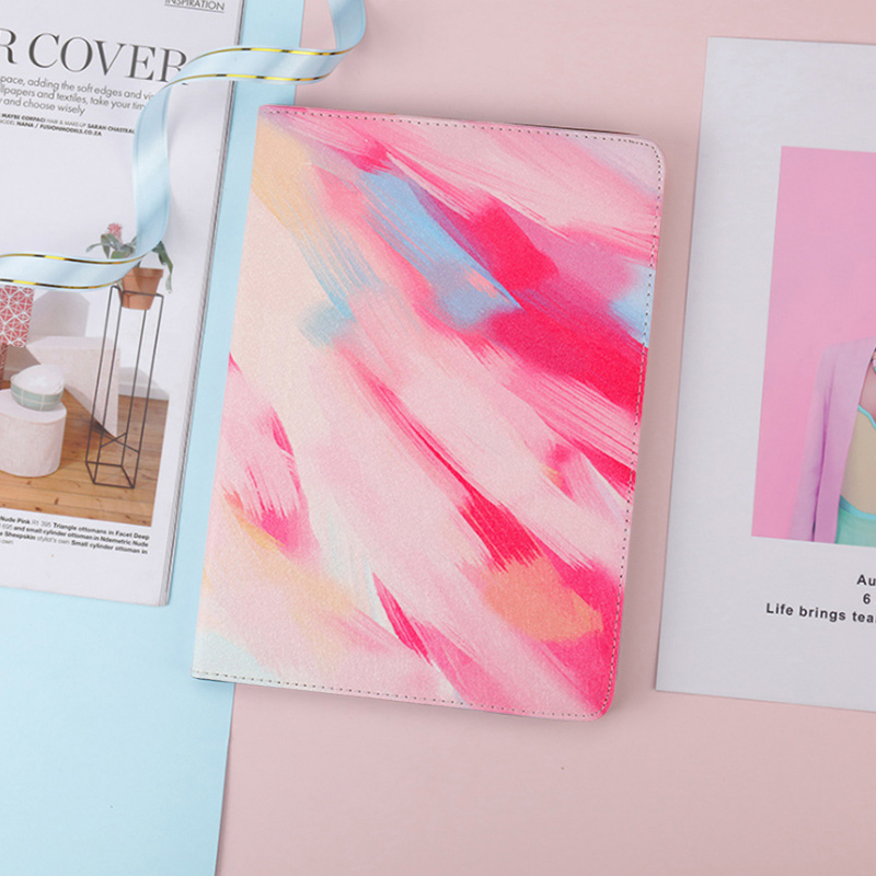 Yagoo Colorful Pu leather Case For Xiaomi mi Pad 4 Plus Tablet Smart Weak Sleep Cover Mipad 4 Fashion Print Floral Dot Paisley