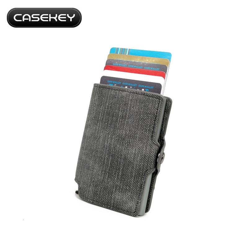 c9f46f785 Detalles para Cartera de aluminio con soporte para tarjetas de crédito: