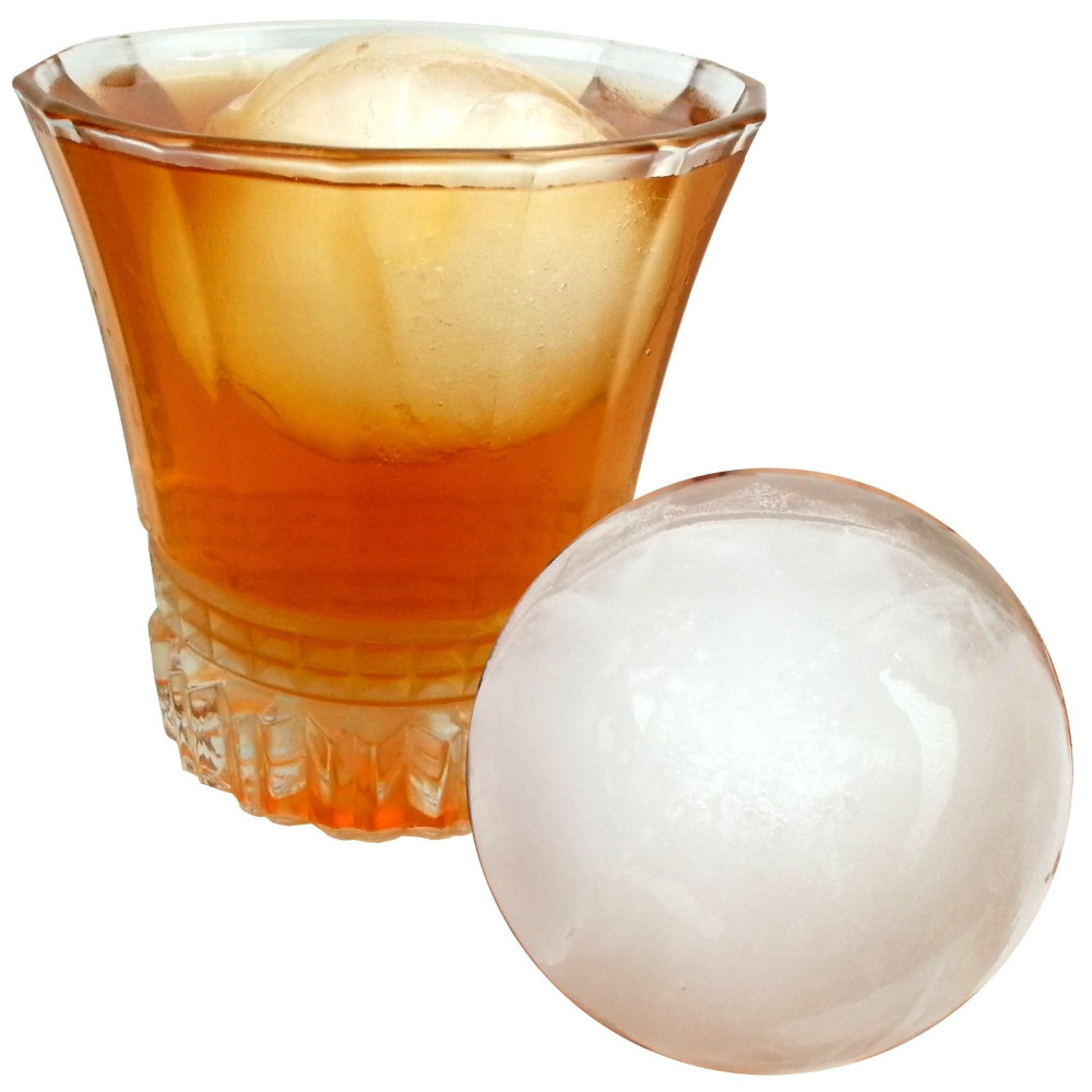 Hot bar drink whiskey sphere big round ball ice brick cube for Hot tea with whiskey