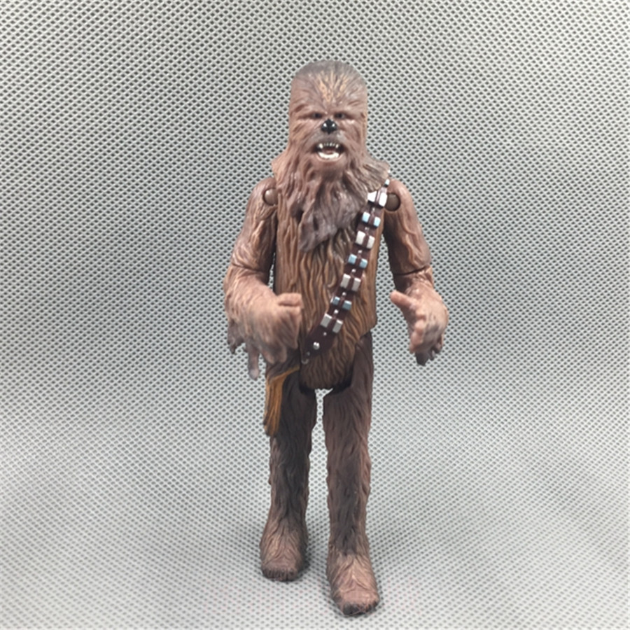 1pcs 12cm=4.7inch Original Star Wars Chewbacca Model Decoration PVC Toy Action Figure Doll