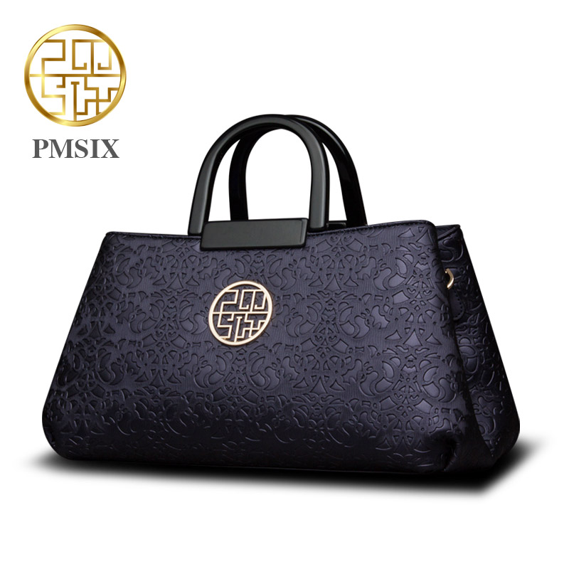 2016 autumn and winter new embossed Messenger shoulder high capacity font b handbag b font font