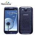 Telefone célula original samsung galaxy s3 i9300 quad-core de 4.8 polegada android smart phone samsung i9300 frete grátis