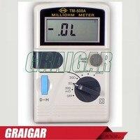 Micro weerstand meter  TM-508A Batterij of ACDC Aangedreven milliohm meter  originele authentieke goederen