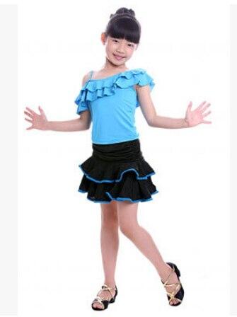 99506734698f New Discount Cheap Children Kids Sequin Cocktail Latin Salsa Dresses ...