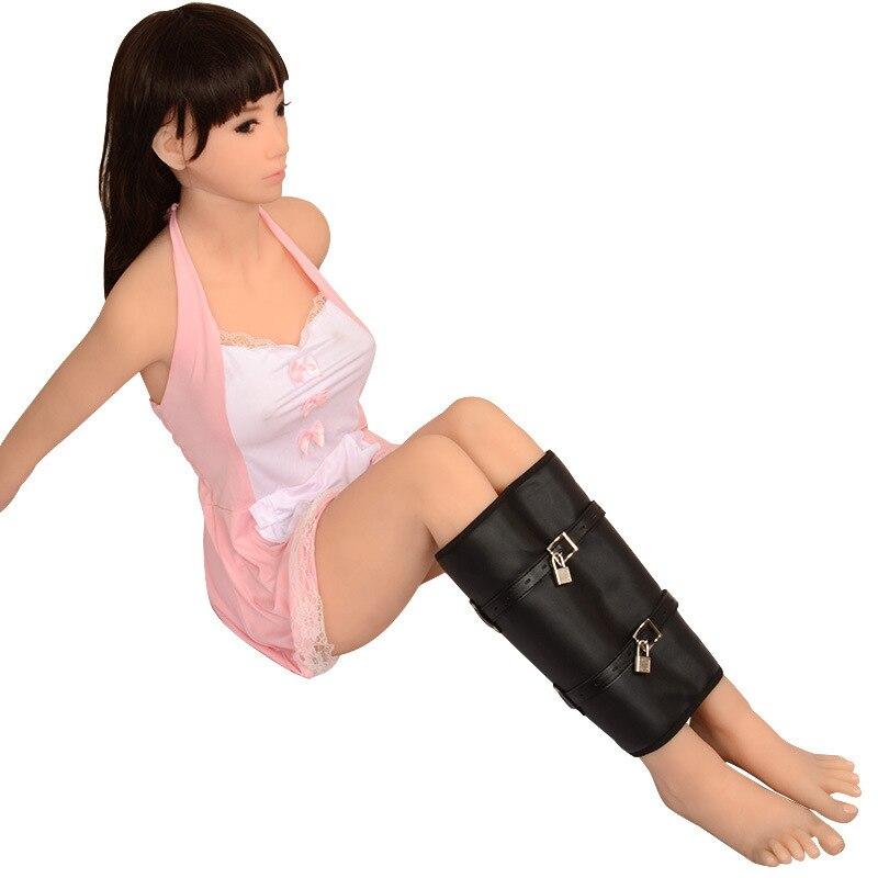 Leg Bound Bags Of Fun Tight Leg Restraint Bdsm Fetish Sex -7125