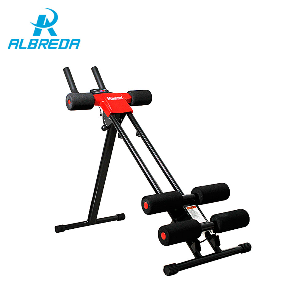 ALBREDA Novo Treinamento de Equipamentos de Fitness Abdômen Máquina ab roda roda Abdominal Cintura Fina Perder Peso Esportes equipamento de fitness Casa