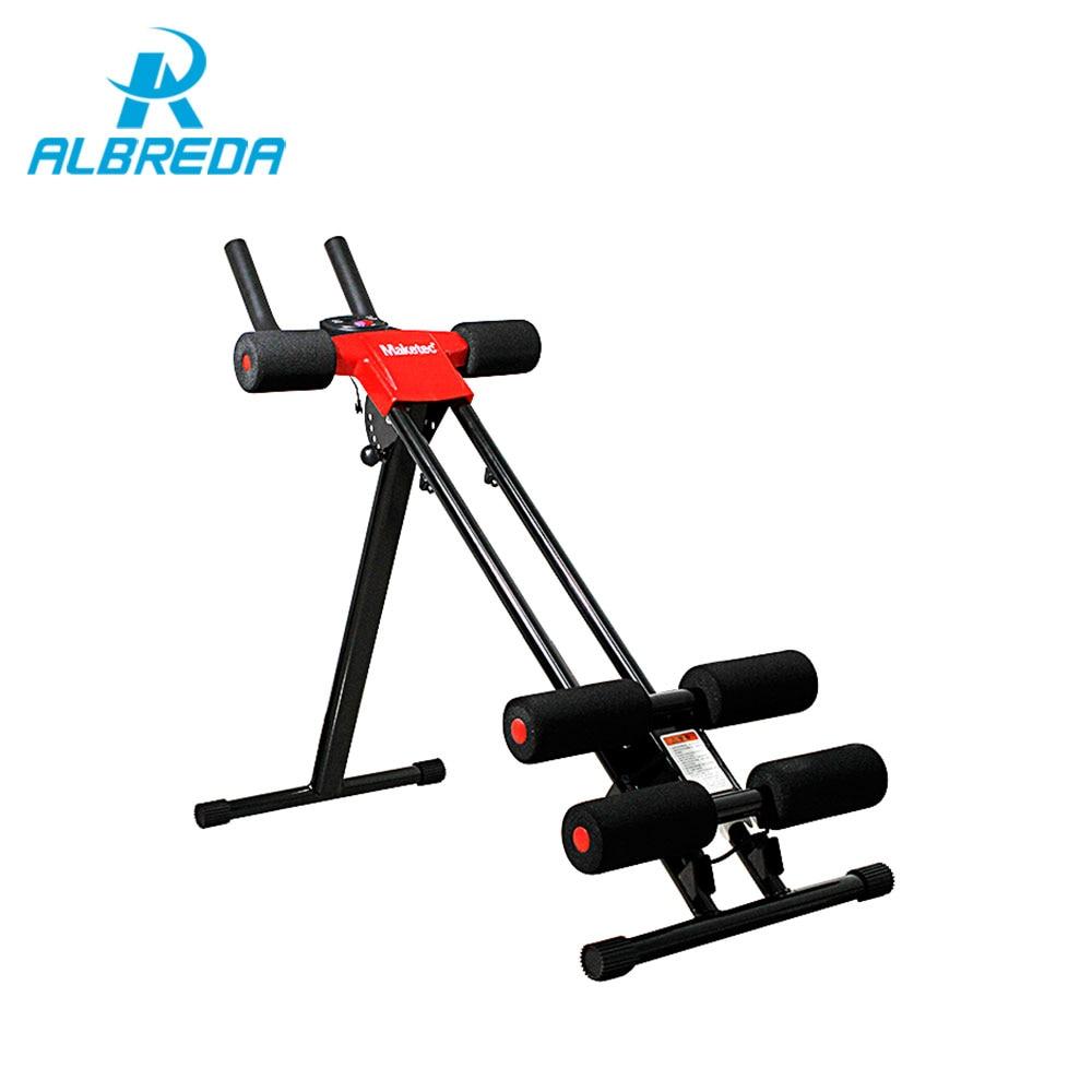 ALBREDA nuevo equipo de Fitness máquina de Abdomen rueda ab cintura delgada entrenamiento Abdominal hogar deportes fitness equipo perder peso
