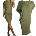 Vestidos 2017 New Women Summer T Shirt Dress Casual Plus Size Clothes Sexy Sundress Black Vintage Party Bodycon Dresses Robes