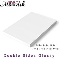 High Glossy 50 Sheets A4 Double Side Printable Photo Paper
