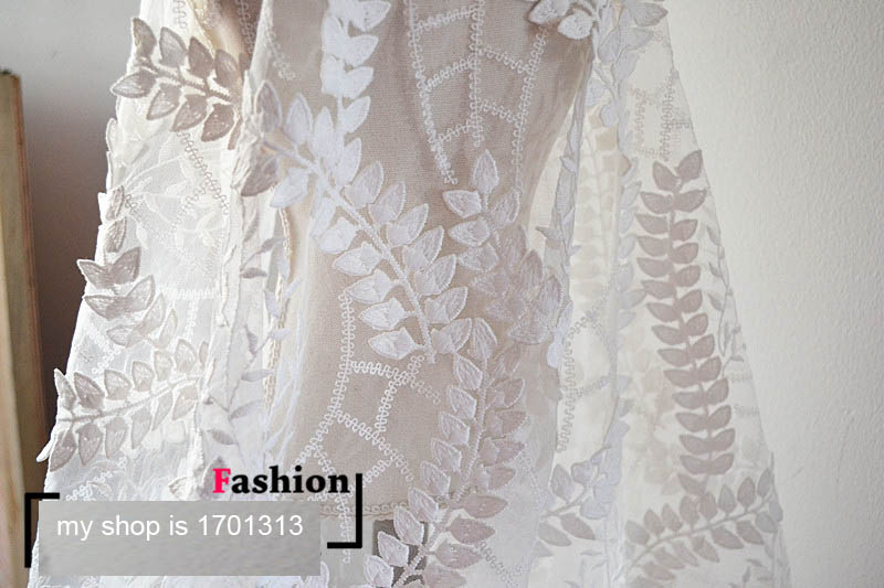 French Lace Wedding Gown: 135cm*1yard French Lace Fabric For Wedding Dress African