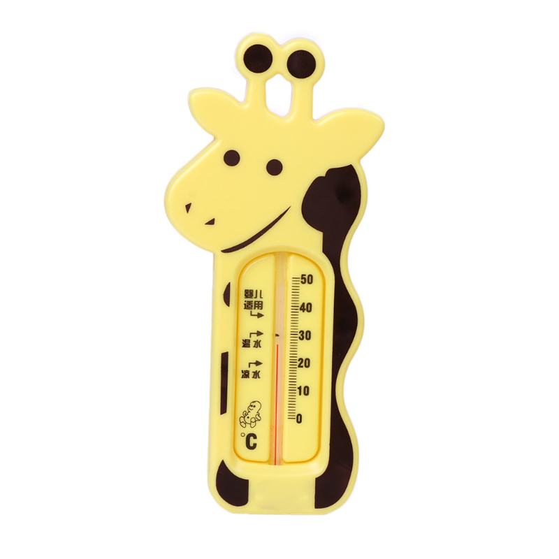 Water Thermometer Baby Bathing Giraffe Shape Temperature Infants Toddler ShowerWater Thermometer Baby Bathing Giraffe Shape Temperature Infants Toddler Shower