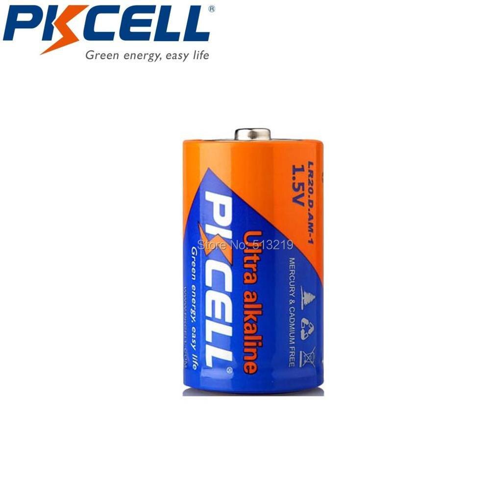 6 x AM-1 LR20 MN1300 R20 R20P Alkaline D Battery For Flashlights Toys,Loudspeaker,Gas Cooker,Mircophone,Water Heater
