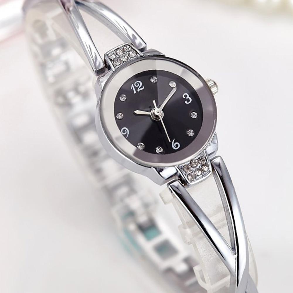 Luxury Womens Fashion Watches Stainless Steel Quartz Wrist Watch Waterproof Gift