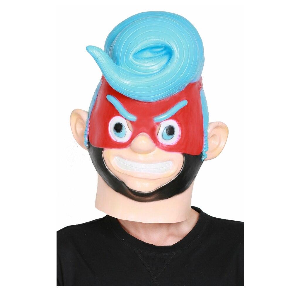 XCOSER руки игры Косплэй Весна человек полный голову шлем Весна человек Косплэй костюм аксессуар и Хэллоуина маски ...