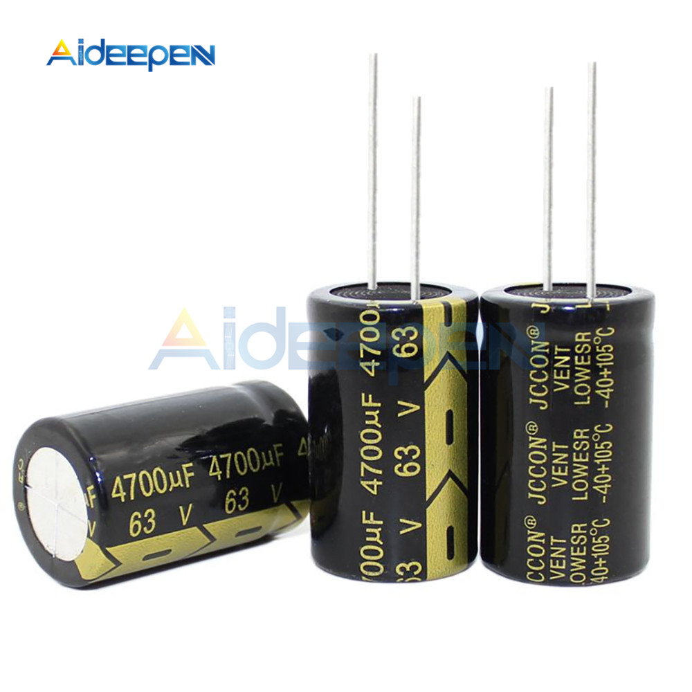 63V 4700uF 22*35mm Aluminum Electrolytic Capacitor 4700uf 63V4700uF 22x35mm