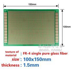 5 piezas de un solo panel PCB 10X15X10*15 CM alta calidad baquelita/universal/placa de experimentación /aceite verde/placa de circuito/placa PCB