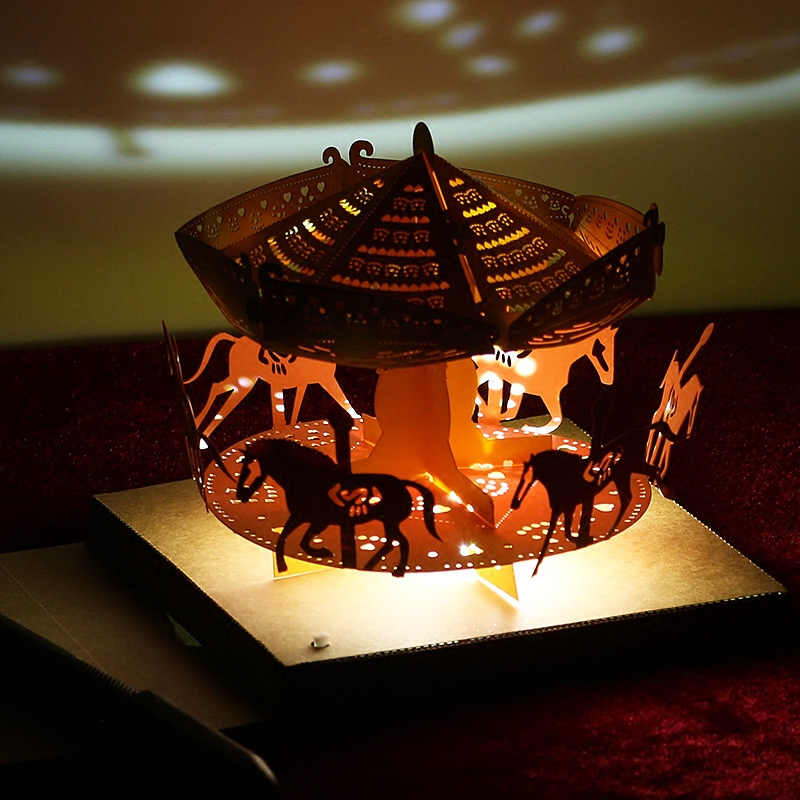 Carousel Lights. Paper Carving Art. Manual Assembly. In LED Table Lamps  From Lights U0026 Lighting On Aliexpress.com | Alibaba Group