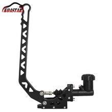 ユニバーサルレーシングカー黒ハンドブレーキネオクロームアルミ油圧ハンドブレーキレバードリフトハンドブレーキe ブレーキタイプ 10