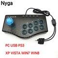 USB Wired GamePad für PC Spiel Controller Arcade Spiel Joystick USB Kampf Controller Gamepad Mame Für PC PS3 Gaming