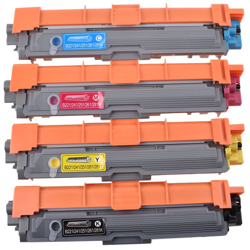 BLOOM Compatible TN221 TN281 Toner Cartridge For Brother HL 3140CW 3150 3170CDW MFC9130CW MFC 9140 9330CDW 9340CDW DCP 9020CDW
