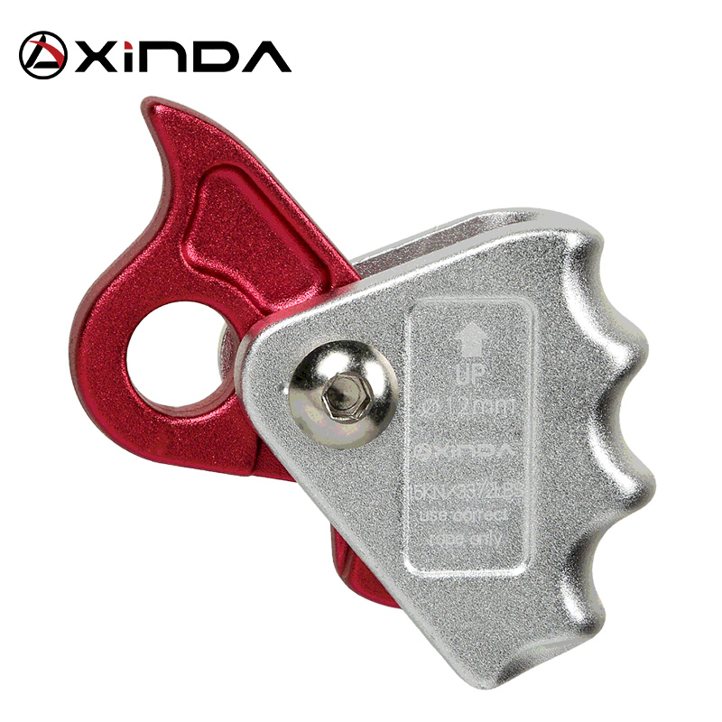Equipamento de Alta Altitude do Auto-bloqueio de Xinda Toolsgrip Corda Dispositivos Automático Karabiner Anti Queda Engrenagem Protetora Sobrevivência