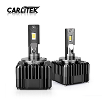 CARLitek Car Led D1S Headlight Fog Lamp Bulb 20000LM 50W CSP Led D3S Headlamp 6000K Car Styling 12V For Universal Auto 2pcs