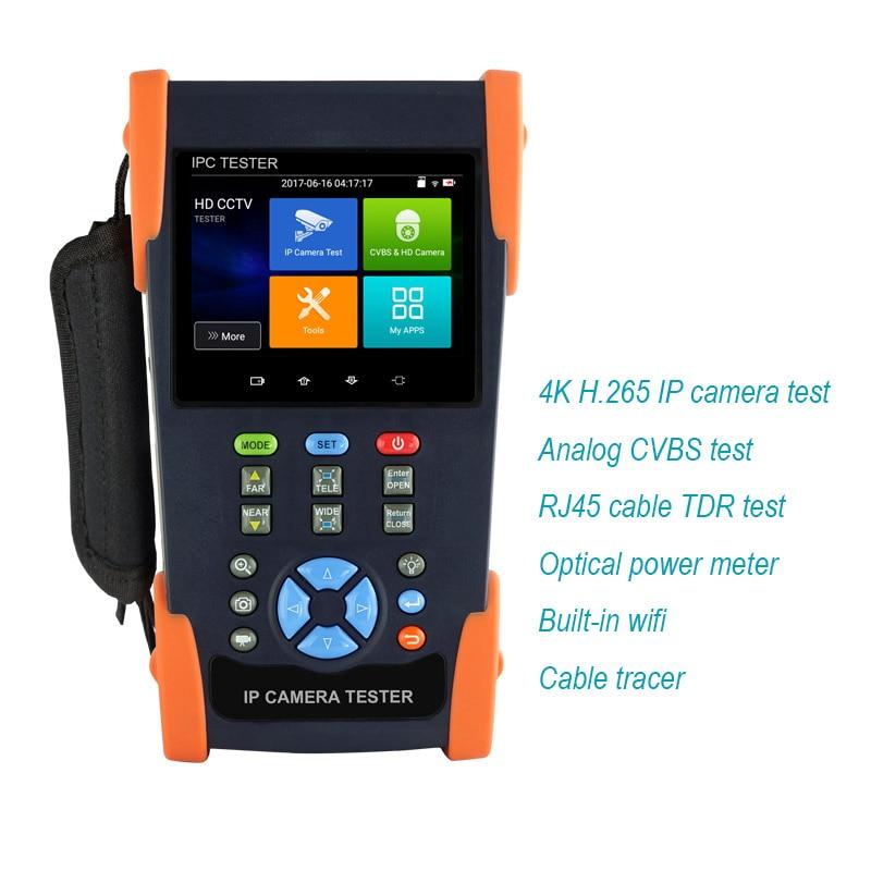 2018 H.265 H.264 4K IP Camera tester Analog tester AHD Camera tester IP Camera security tester CCTV Test Monitor