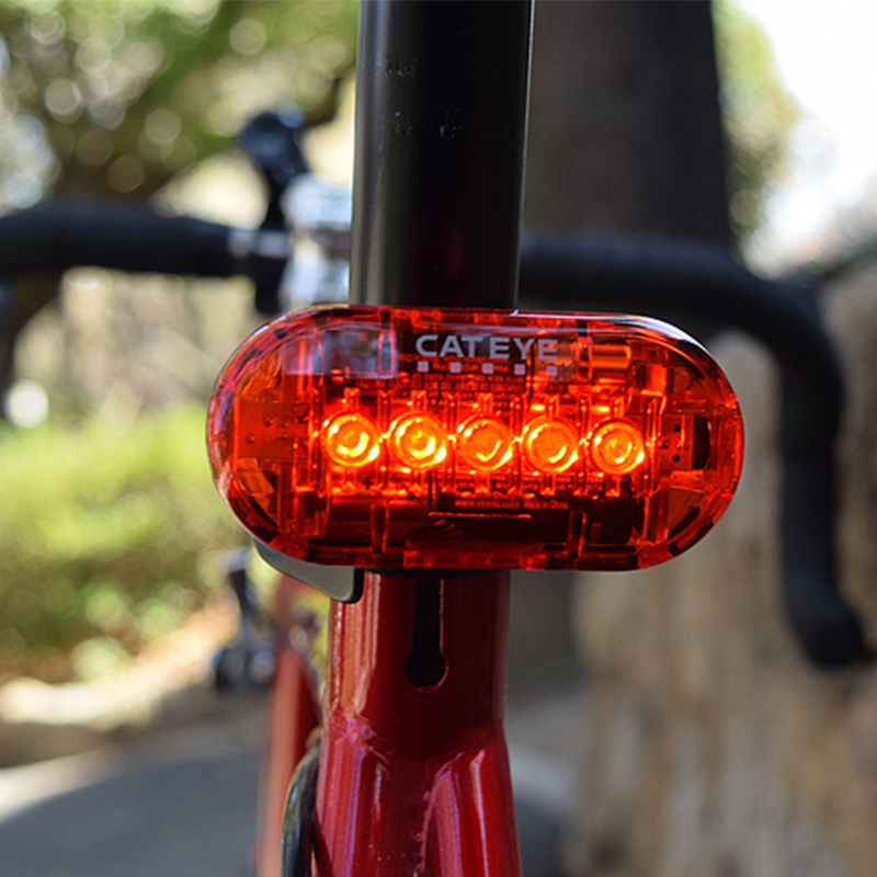 Led Riding Rear Light Waterproof MTB Road Bike Safety Warning Lights Lamp Accessories CATEYE Bicycle Light Cycling Taillight