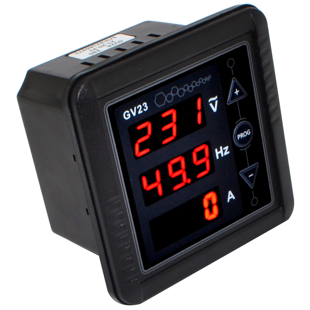 Voltage Frequency Meter : Bc gv generator digital meter ac voltage frequency