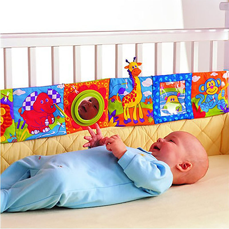 Animal Baby Playpens Baby Toys Cloth Book High Quality Colorful Patterns Toys for Children Newborns Soft Early Educational Cot