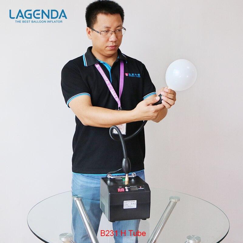 B231 Профессиональный Lagenda скручивания моделирование насос для воздушных шаров с Батарея цифровой время и счетчик электрическая шар насос