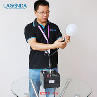 Free shipping B231 Professional Lagenda Twisting Modeling Balloon Inflator with Battery Digital Time Electirc Balloon Pump