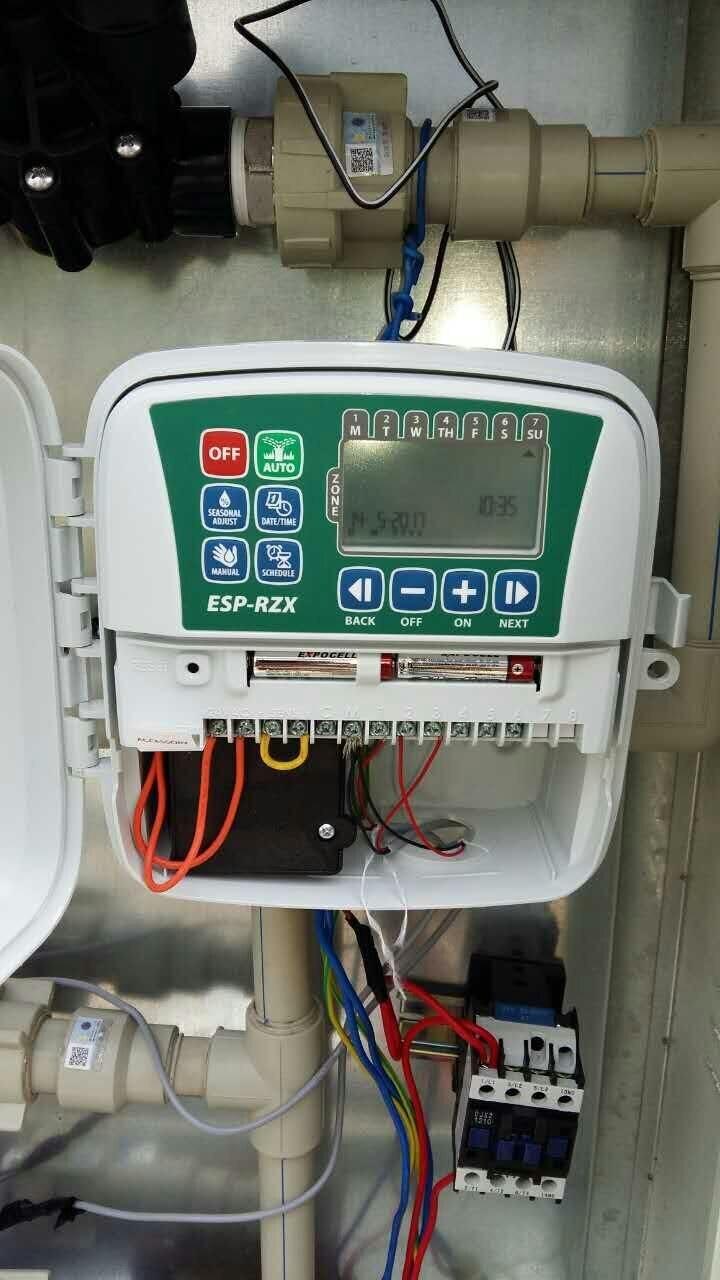 4, 6 или 8 зон подрядчика класса контроллер для жилых использования дождь птица ESP RZX контроллер
