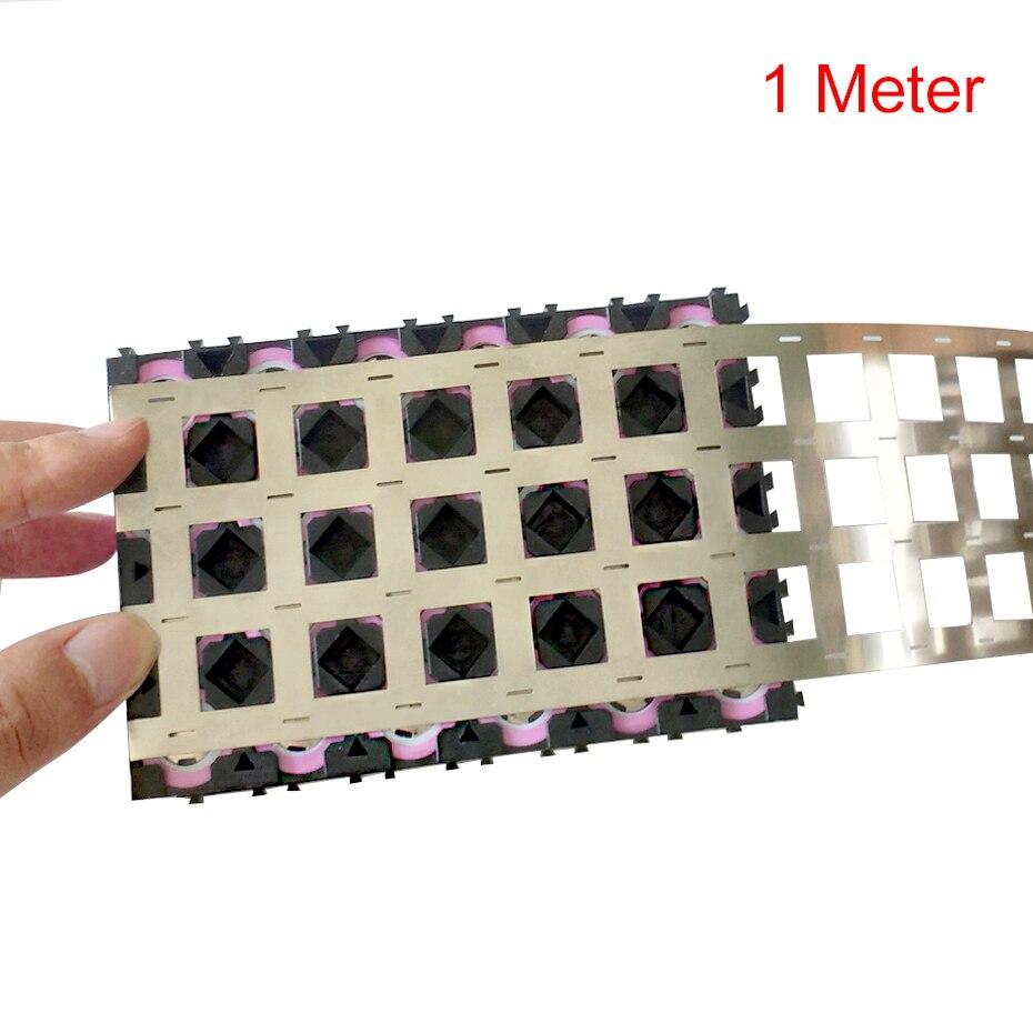 1M 99.96% High Purity Pure Nickel Belt 4P Lithium Battery Nickel Strip Li-ion Batteries Ni Plate For 18650 Welding Nickel Strips