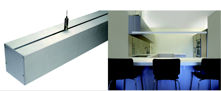 5set/lot Pendant installation led linear bar DC24V 1m 2835,modern office showroom led lamp,led panel light indoor decoration inpower pro 11 5 crack unlimited installation